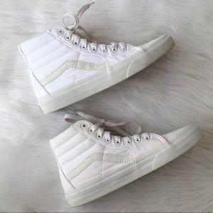 062183507f Vans Shoes - ❤️CLEARANCE❤ Canvas SK8-HI white vans